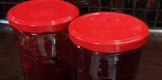 σπιτική μαρμελάδα φράουλα